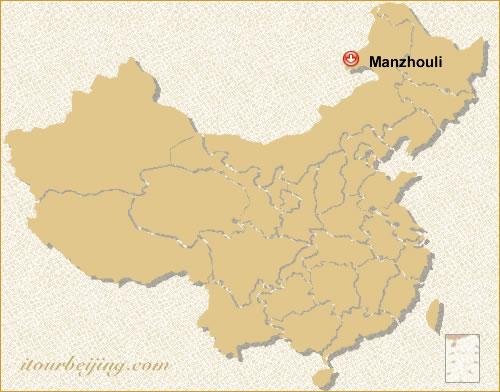 Manzhouli Location Map - Manzhouli map