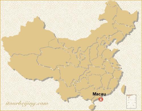 Macau Location Map