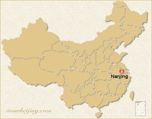 Nanjing Location Map - Nanjing map