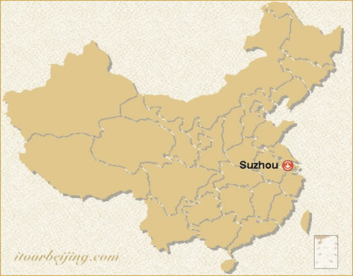 Suzhou Map