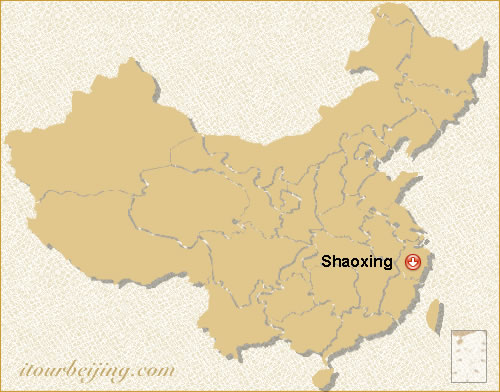 Shaoxing Location Map - Shaoxing map