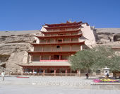 The Photo of Mogao Grottoes