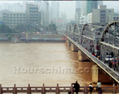 The Photo of The Yellow River of Yinchuan