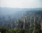 The Mountains of Zhangjiajie