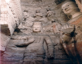 The Buddhas in Yungang Grottoes
