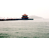 The Picture of Zhan Bridge in Qingdao