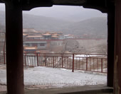 The Picture of Ancient Town Cangyan