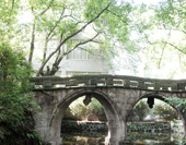 The Bridge in Eling Park of Chongqing Photo