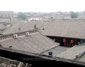 The Photo of Houses in Pingyao