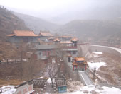 Overlook the Cangyan Ancient Town