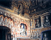 The Thousand Buddhas at Yungang Grottoes