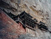 The Photo of Building at Yungang Grottoes