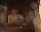 The Mogao Grottoes at Dunhuang
