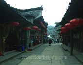 The Alley of Fenghuang Ancient Town