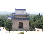 The Picture of Dr.Sun Yat-sen's Mausoleum