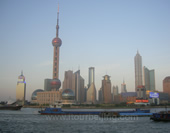 The Picture of Oriental Pearl  tower