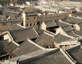 The Houses in Pingyao Ancient City
