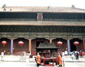 A Temple of Tai Mountain