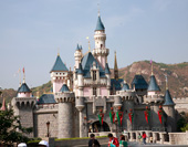 The Castle in Disneyland