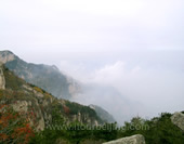 The Beautiful Scenery of Mt. Tai