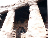 The Photo of Grottoes at Yungang