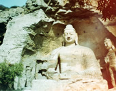 The Stone Buddha at Yungang Grottoes