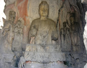 The Photo of Buddha in Longmen