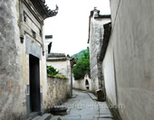 The Alley of the Huizhou Village