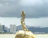 The Statue of The fisher Girl in Zhuhai Picture