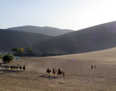 Photo of Desert Scenery in Dunhuang