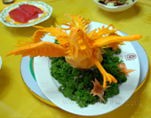 The Food Sculpture of Chinese Cuisine
