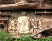 The Buddha at Mogao Grottoes