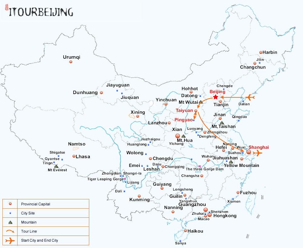 9-Day Shanxi Culture Exploration Tour