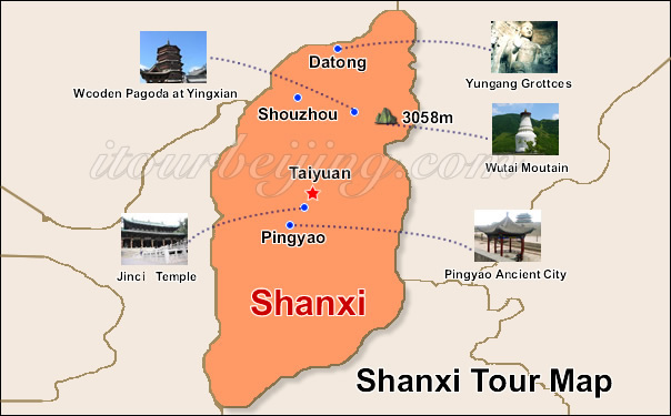 Shanxi China Map.Shanxi Ancient Culture Travel China Travel Guide Travel Service