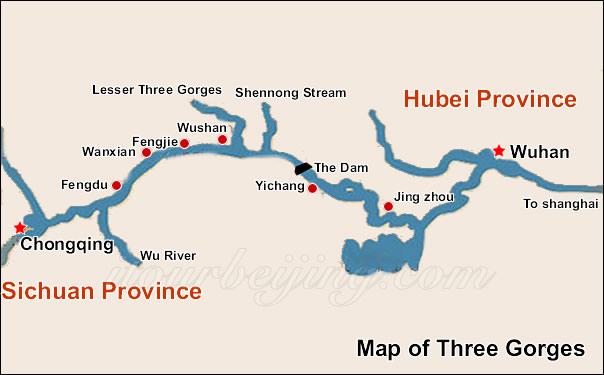 china yangtze river tour packages three gorges tour